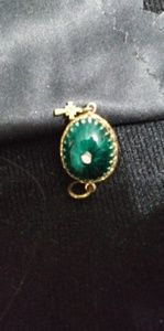 Emerald Faberge Egg Charm for sale
